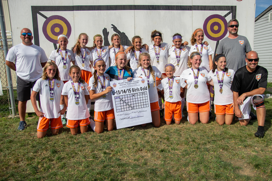 Girls U13/14/15 Gold